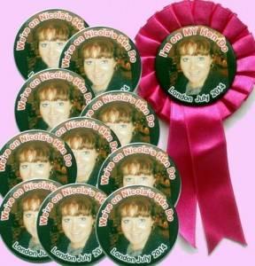 Personalised Hen Night Badge Packs